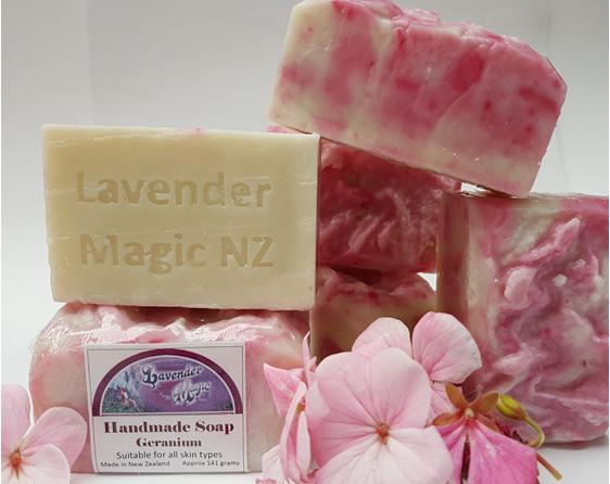 Geranium Handmade soap