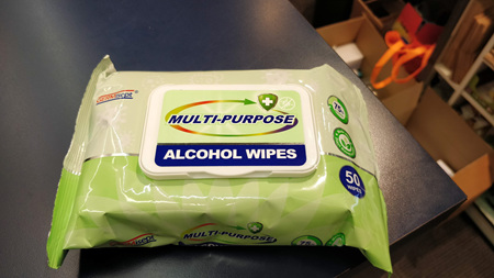 Germisept Alcohol Wipes Multi-Purpose 50 Pack