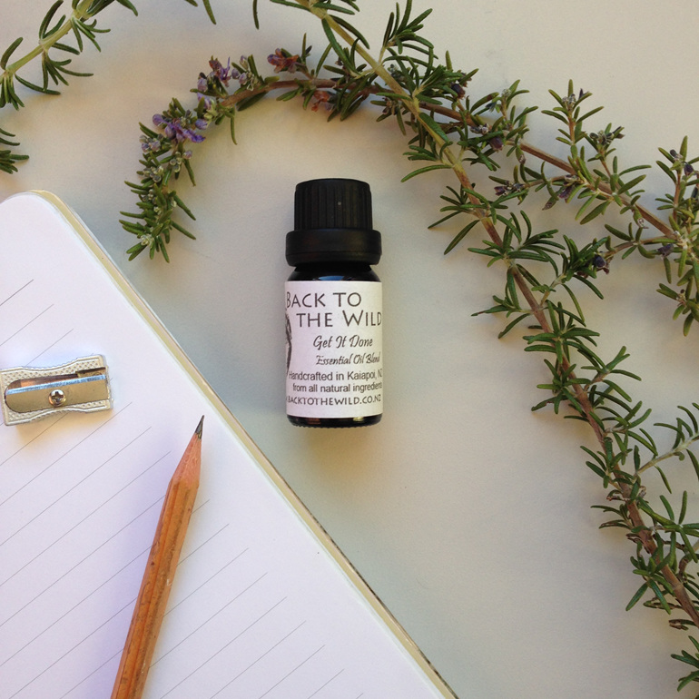 get it done focus reenergise wake up essential oil blend nz