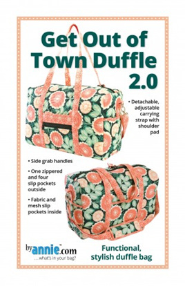 Get out of town duffle by Annie