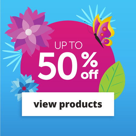 Get Up to 50% Off