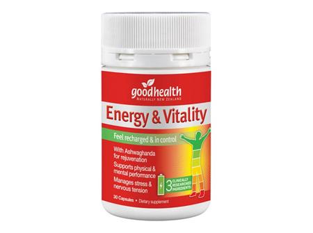 GH ENERGY & VITALITY 30 CAPS