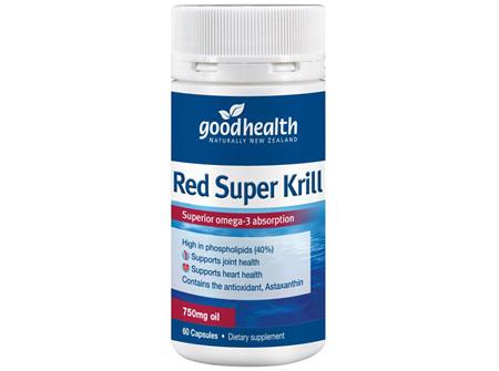 GH RED SUPER KRILL 750MG 60 CAPS (E)