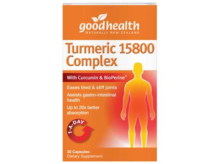 GH TURMERIC 15800 COMPLEX 30 CAPS