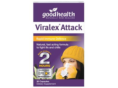GH VIRALEX® ATTACK 30 CAPS