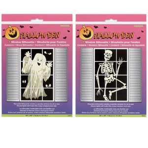 Ghost or Skeleton window silhouette