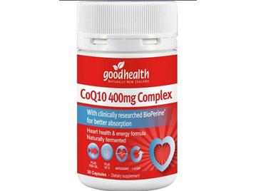 GHP CoQ10 400mg 30caps