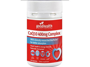 GHP CoQ10 Complex 400mg 25