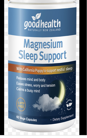 GHP Magnesium Sleep Support 60caps