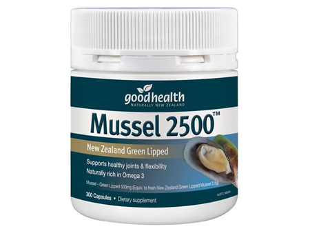 GHP Mussel 2500mg 300caps