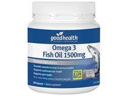 GHP Omega 3 Fish Oil 1500mg 400caps