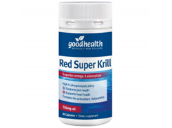 GHP Red Super Krill 750mg 60caps