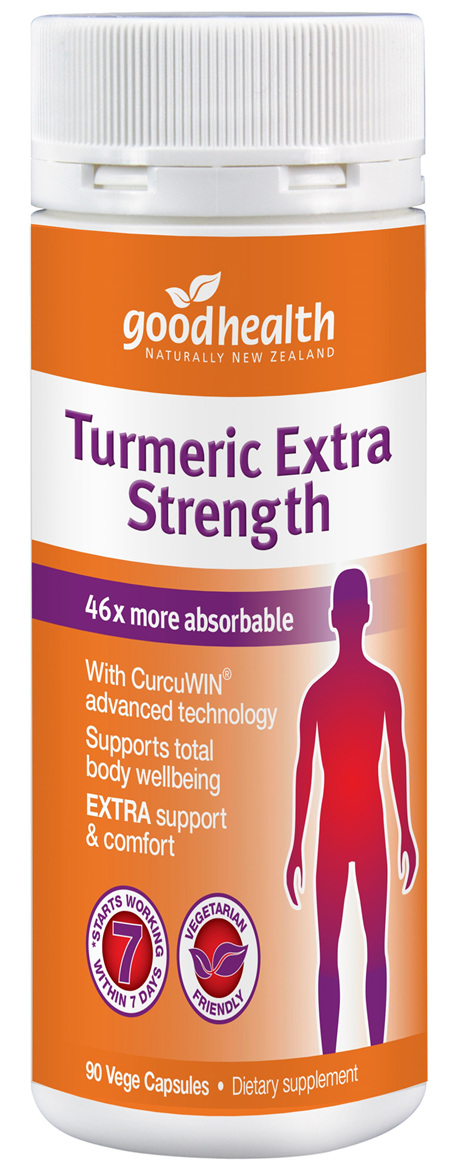 GHP Turmeric Extra Strength 90cap