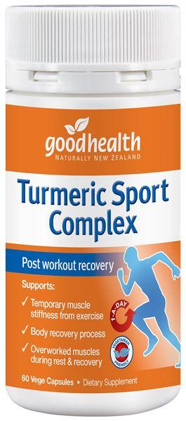 GHP Turmeric Sport Complex 60caps