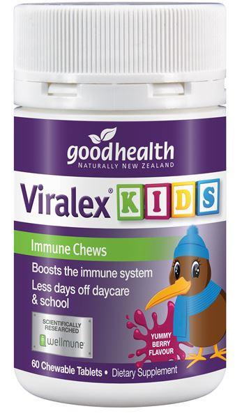 GHP Viralex Kids Chews 60tabs