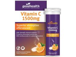GHP Vitamin C 1500mg Efferves. 30tab