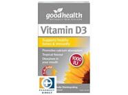GHP Vitamin D3 1000IU 60tabs