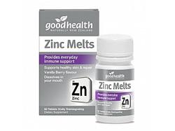 GHP Zinc Melts Disint. 60tabs