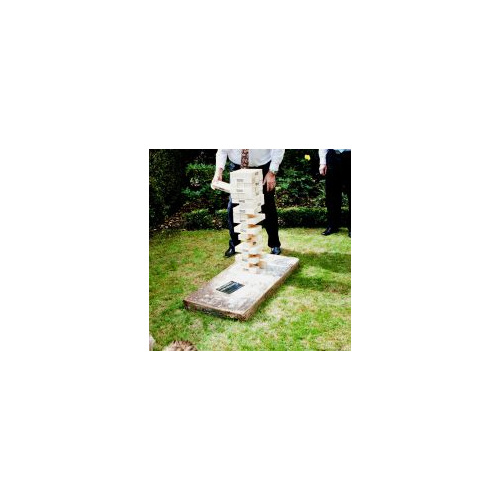 Giant Jenga Wedding and event hire