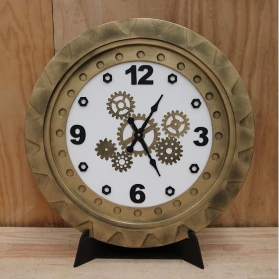 giant steampunk clock