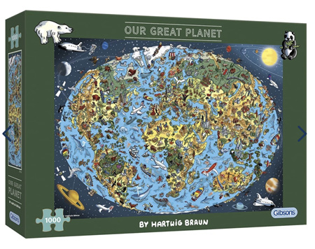 Gibson 1000 Piece Jigsaw Puzzle: Our Great Planet