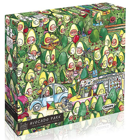 Gibsons 1000 Piece Jigsaw Puzzle: Avocado Park