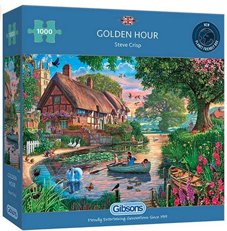Gibsons 1000 Piece Jigsaw Puzzle: Golden Hour