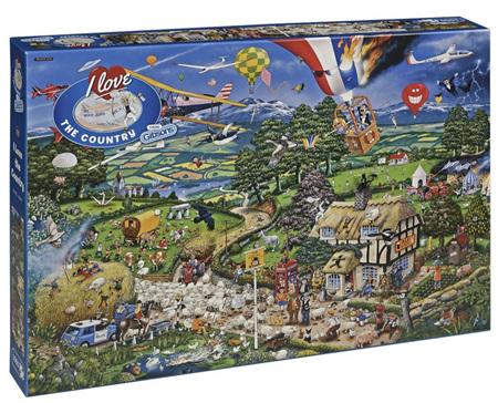 Gibsons 1000 Piece Jigsaw Puzzle: I Love The Farmyard