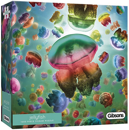 Gibsons 1000 Piece Jigsaw Puzzle: Jellyfish