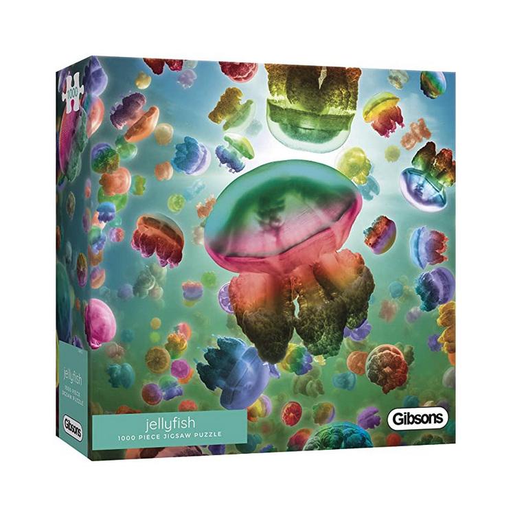 Gibsons 1000 piece jigsaw puzzle Jellyfish  buy at www.puzzlesnz.co.nz