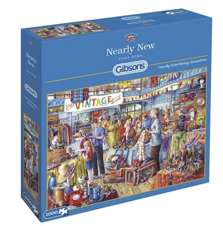 Gibsons 1000 Piece Jigsaw Puzzle: Nearly New