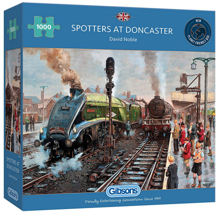 Gibsons 1000 Piece Jigsaw Puzzle: Spotters At Doncaster