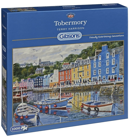 Gibsons 1000 Piece Jigsaw Puzzle: Tobermory