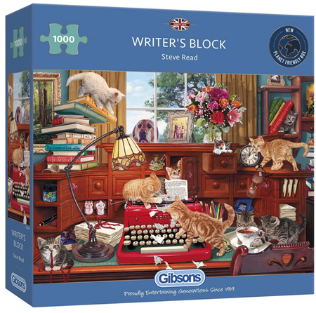 Gibsons 1000 Piece Jigsaw Puzzle: Writers Block