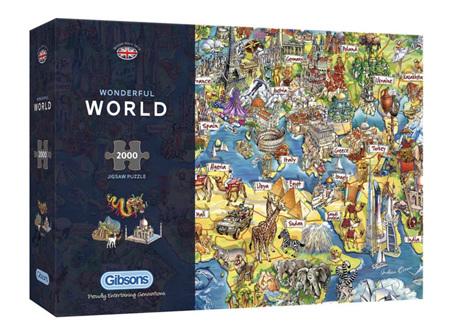 Gibsons 2000 Piece Jigsaw Puzzle: Wonderful World