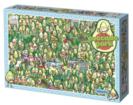 Gibsons 250XL  Piece Jigsaw Puzzle: Avocado Park