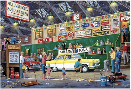 Gibsons 250XL  Piece Jigsaw Puzzle: Going Once Going Twice