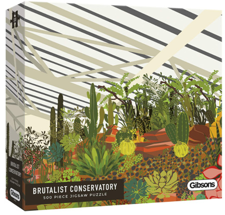 Gibsons 500 Piece Jigsaw Puzzle: Brutalist Conservatory