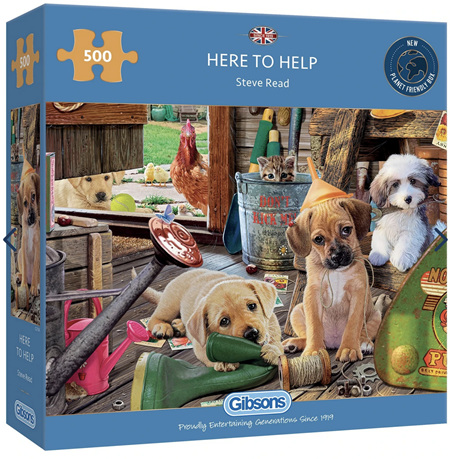 Gibsons 500 Piece Jigsaw Puzzle: Here To Help