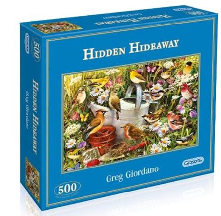 Gibsons 500 Piece Jigsaw Puzzle: Hidden Hideaway