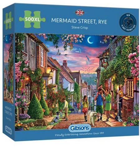 Gibsons 500XL Piece Jigsaw Puzzle: Mermaid Street Rye