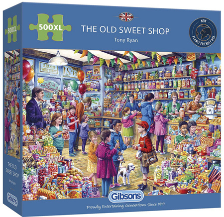 Gibsons 500XL Piece Jigsaw Puzzle: Old Sweet Shop