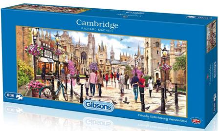 Gibsons 636 Piece Jigsaw Puzzle: Cambridge