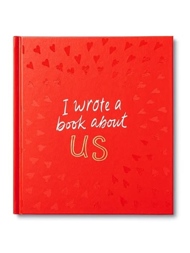 Gift Book I Wrote A Book About Us