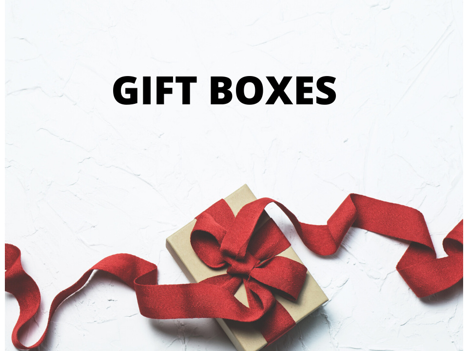New in Xyra - GIFT BOXES
