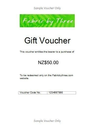 Gift Voucher $50 - Email Delivery