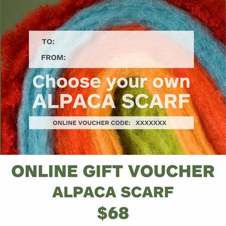 Gift Voucher - Alpaca Scarf