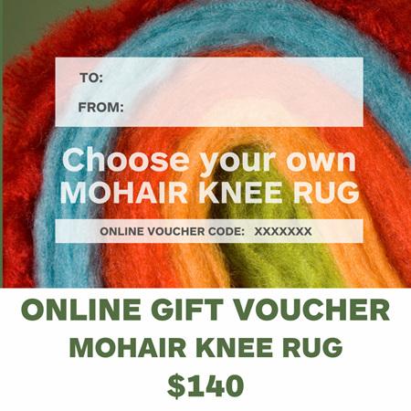 Gift Voucher - Mohair Knee Rug