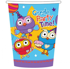 Giggle & Hoot cups x 8