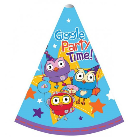 Giggle & Hoot hats x8